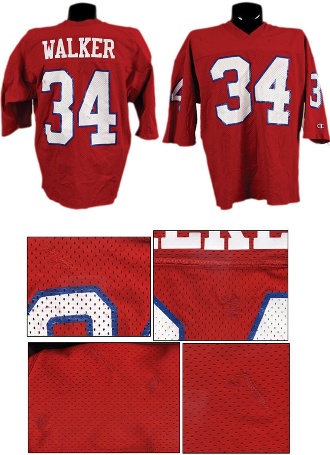 4835375db9e USFL Herschel Walker Game-Worn New Jersey Generals Jersey w/Extensive  Repairs | Memorabilia Expert