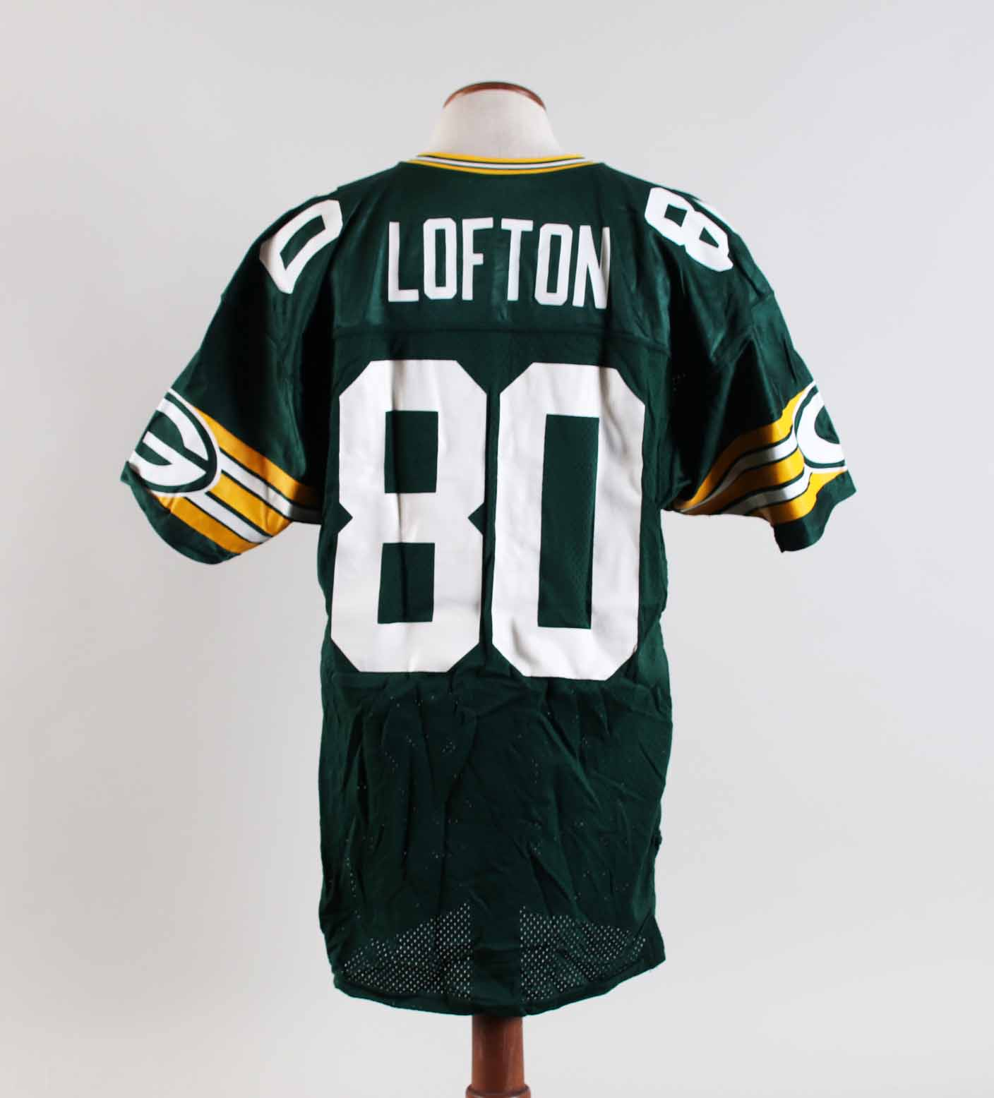 low priced 61a3a 23089 James Lofton Game-Worn Jersey Packers – COA 100% Authentic ...