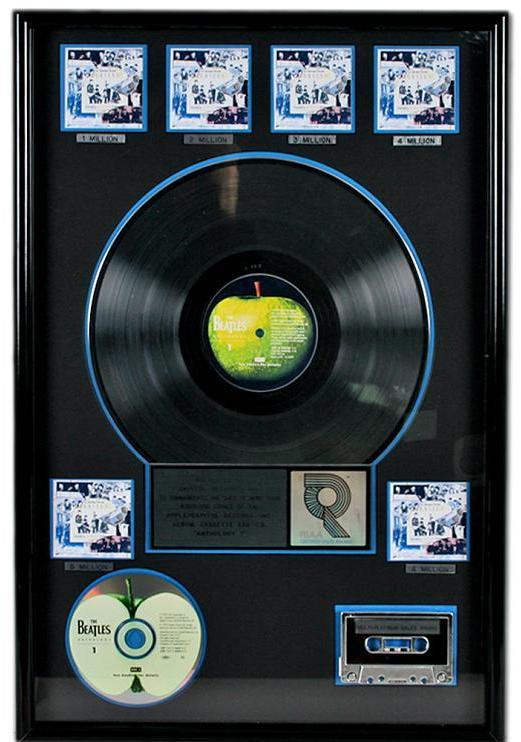 RIAA Multi-Platinum Award for