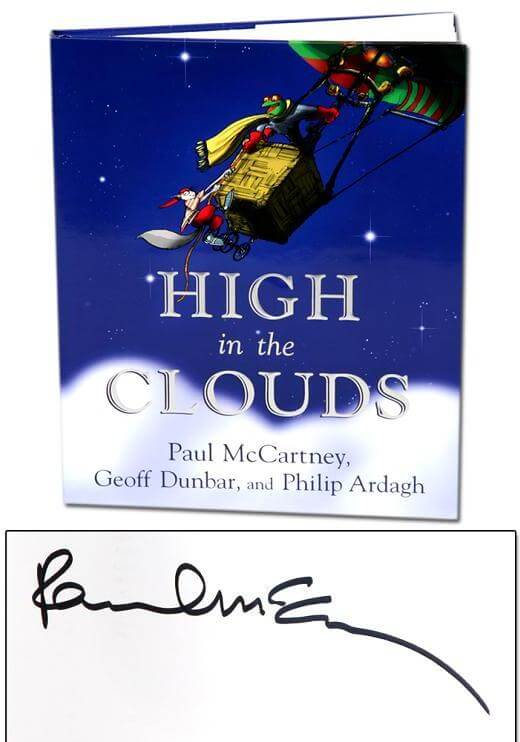 Paul McCartney Signed Book