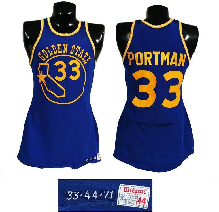 check out baa28 0db8a 1971 Bob Portman Game-Worn Golden State Warriors Jersey (the Team's First  Season)