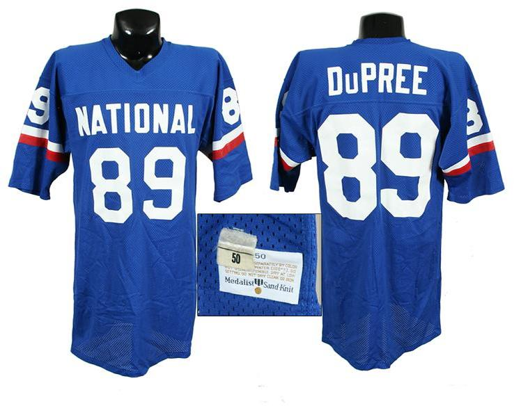 the latest 9a2d8 4a88e Late '70s Billy Jo DuPree Game-Worn Pro Bowl Jersey