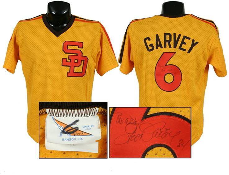 promo code d29a6 82066 1984 Steve Garvey S.D. Padres Signed, Game-Worn Jersey (N.L. Championship  Season)