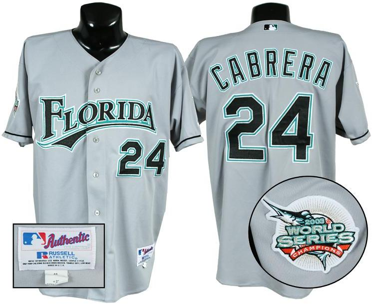 best website fbad5 872aa miguel cabrera florida marlins jersey