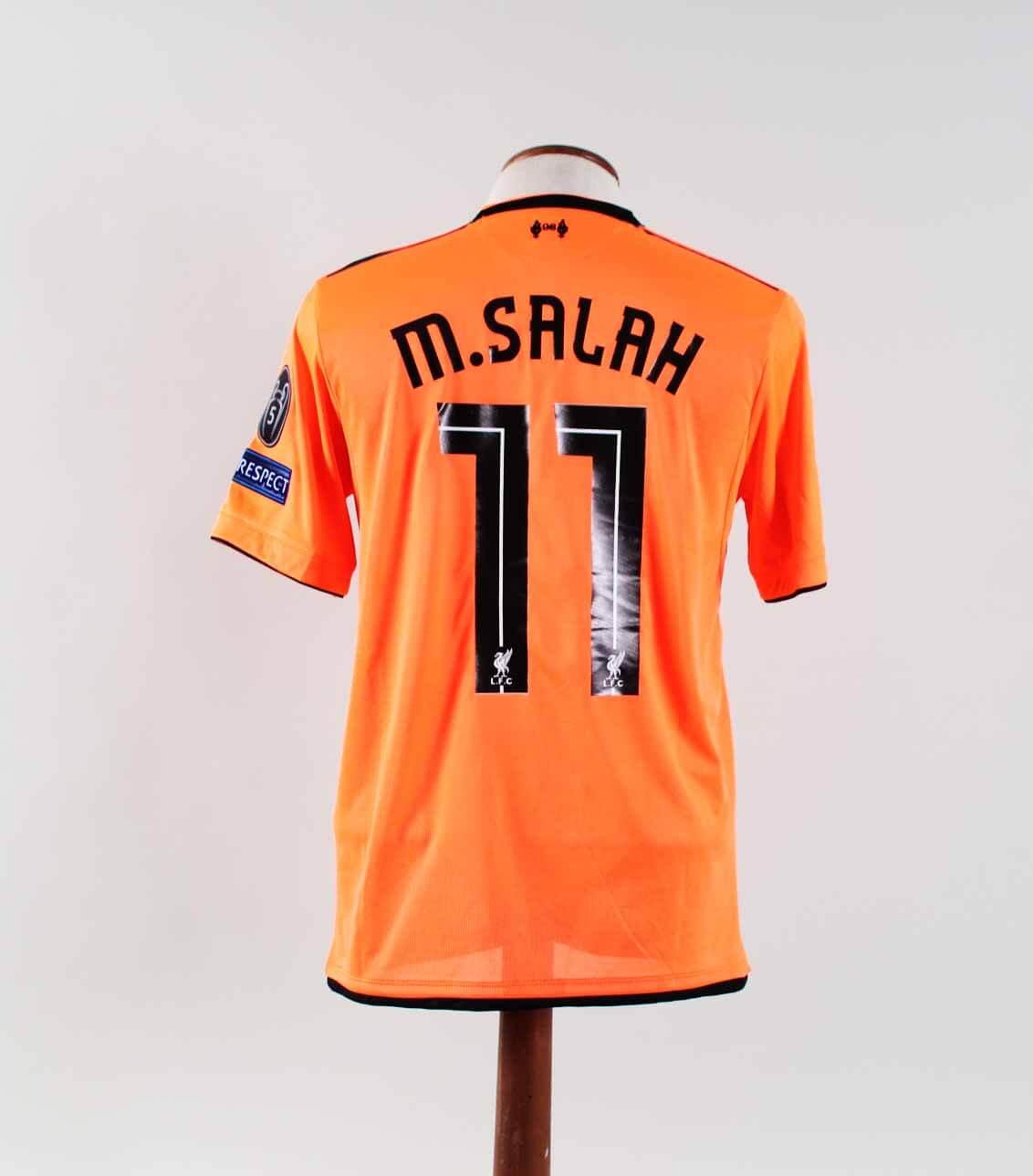 best service 899a9 9bd71 Mohamed Salah Game-Worn Jersey Liverpool F.C.