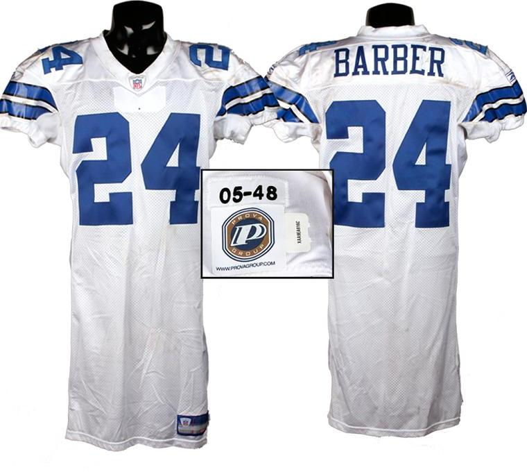 best website 8360a 716e9 2005 Marion Barber Game-Used Cowboys Jersey w/Prova Stickers