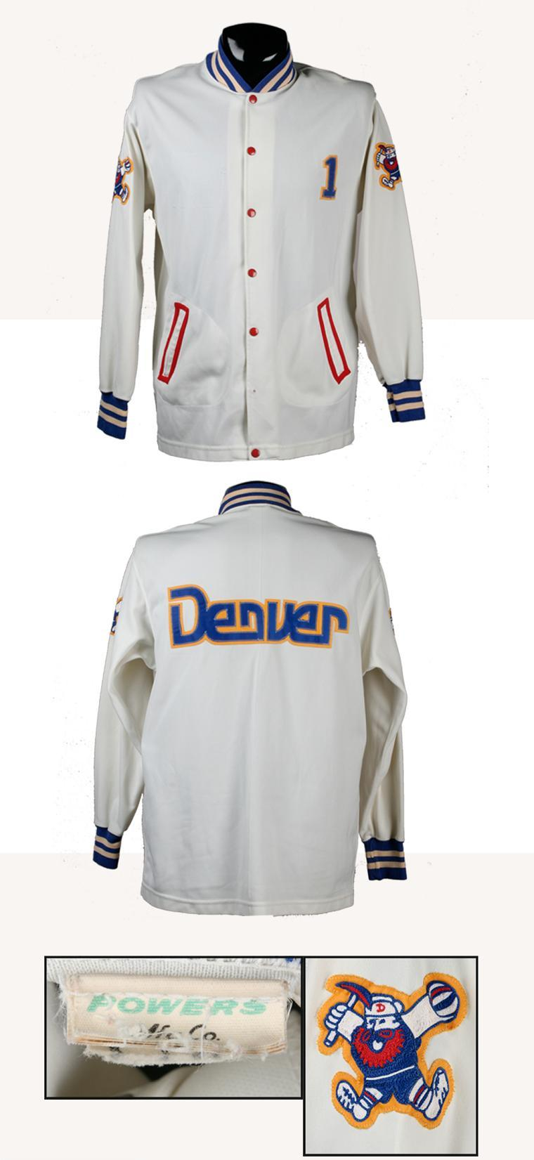 new concept e09dc ce490 Early '80s Denver Nuggets Game-Worn Warm-Up Jacket