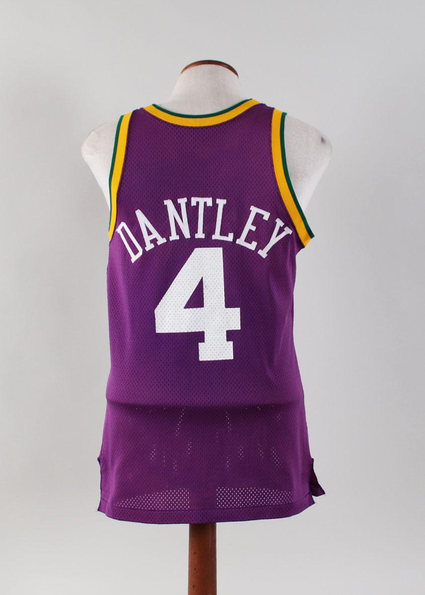 sale retailer 2f9ad 31b1c Adrian Dantley Game-Worn Jersey w/ Shorts Utah Jazz - COA 100% Authentic  Team