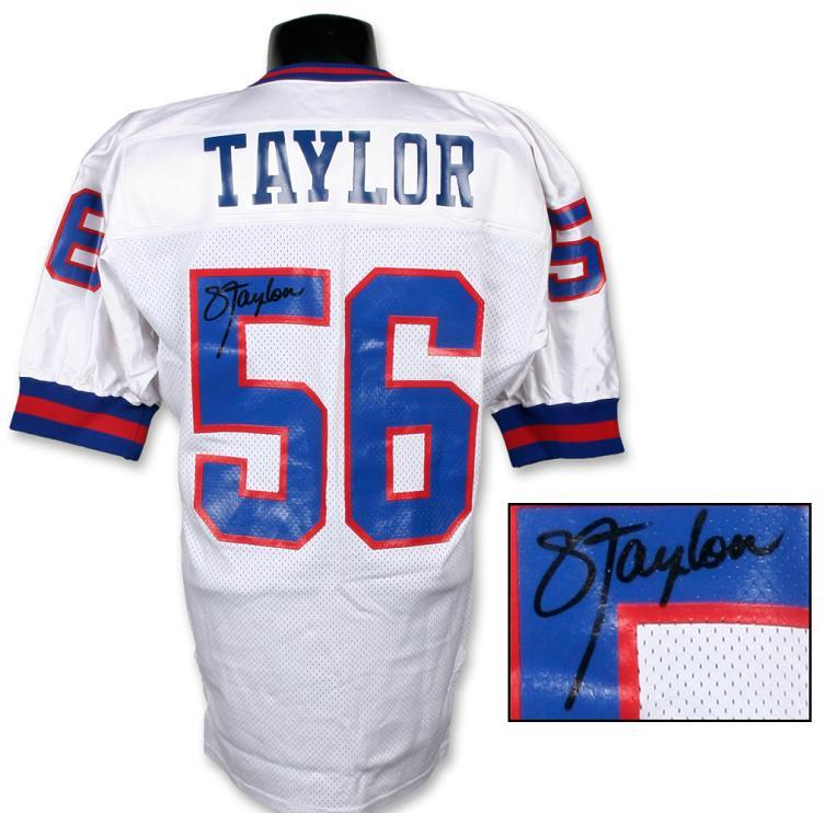 reputable site d786d 4ab3c Lawrence Taylor Signed Authentic Giants Jersey