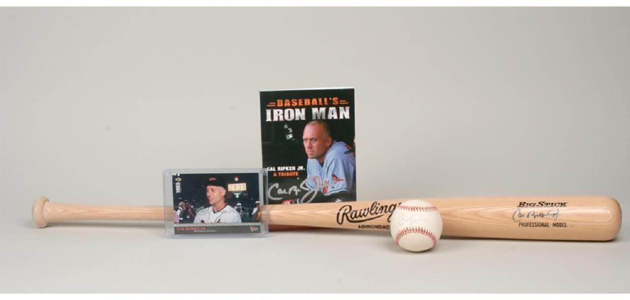 Cal Ripken Jr. Signed Collection – Bat