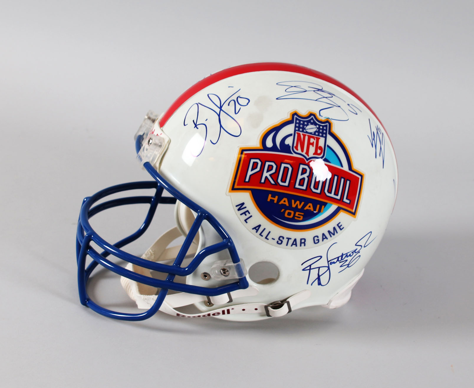 official photos 1ec9a 18128 2005 NFL Pro Bowl Signed Full Size Helmet (9) Owned by ...