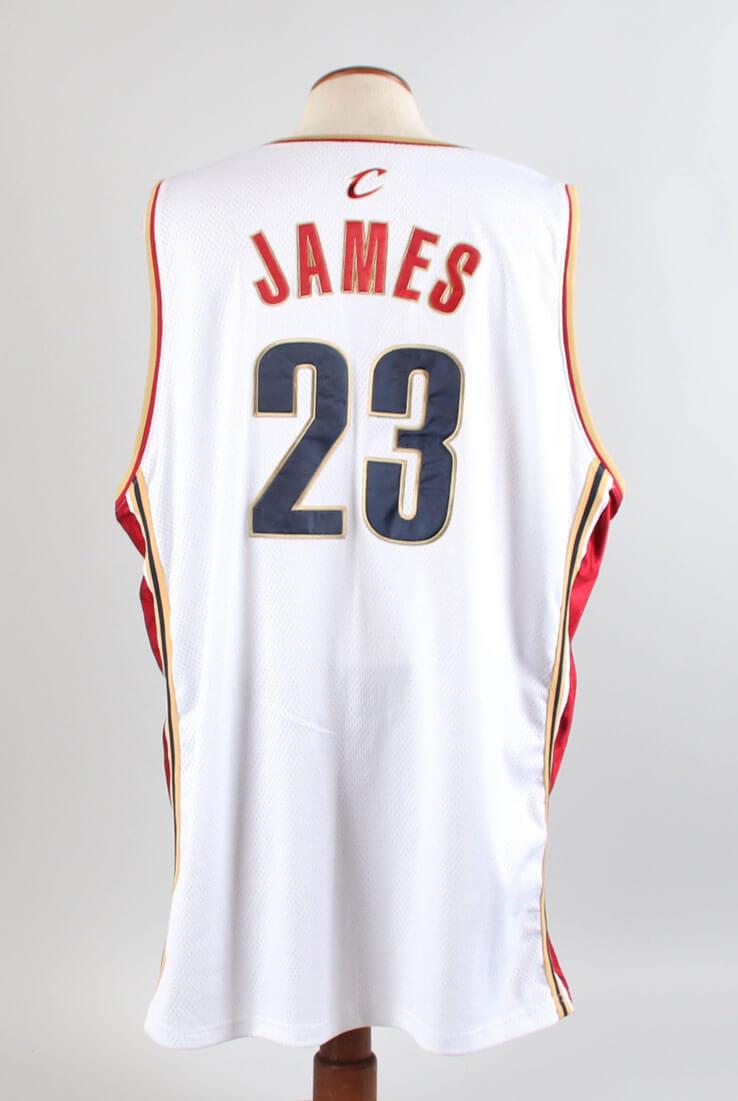 hot sale online 90bdc e9e74 2004-05 LeBron James Game Jersey Cavaliers | Memorabilia Expert