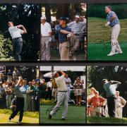 Group of 10 Golfer Signed Photo's (Ernie Els