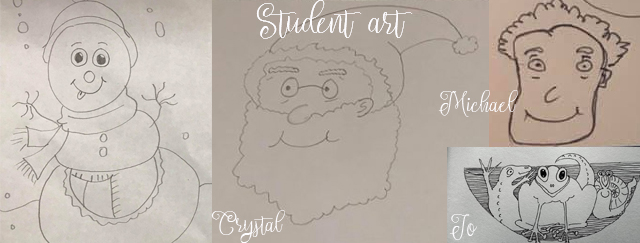 Student drawings