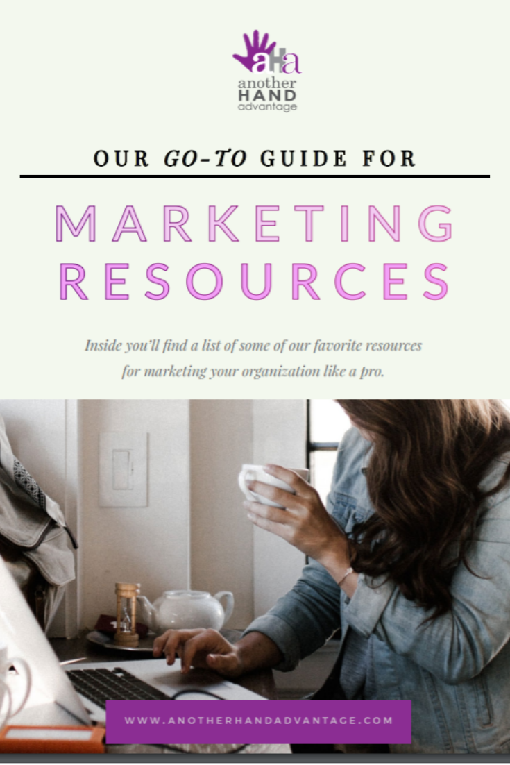 marketing resource guide from another hand advantage