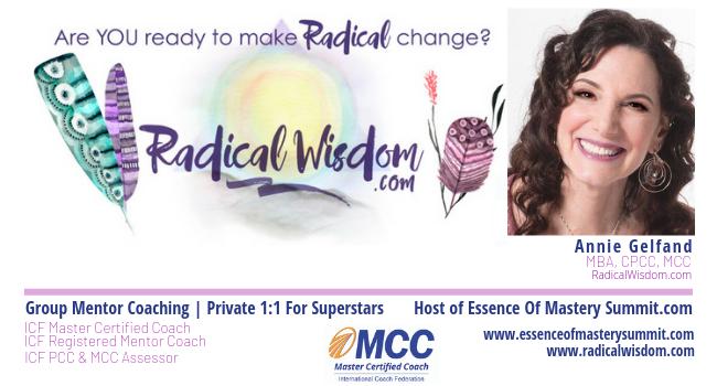 Annie Gelfand, MCC | RadicalWisdom.com