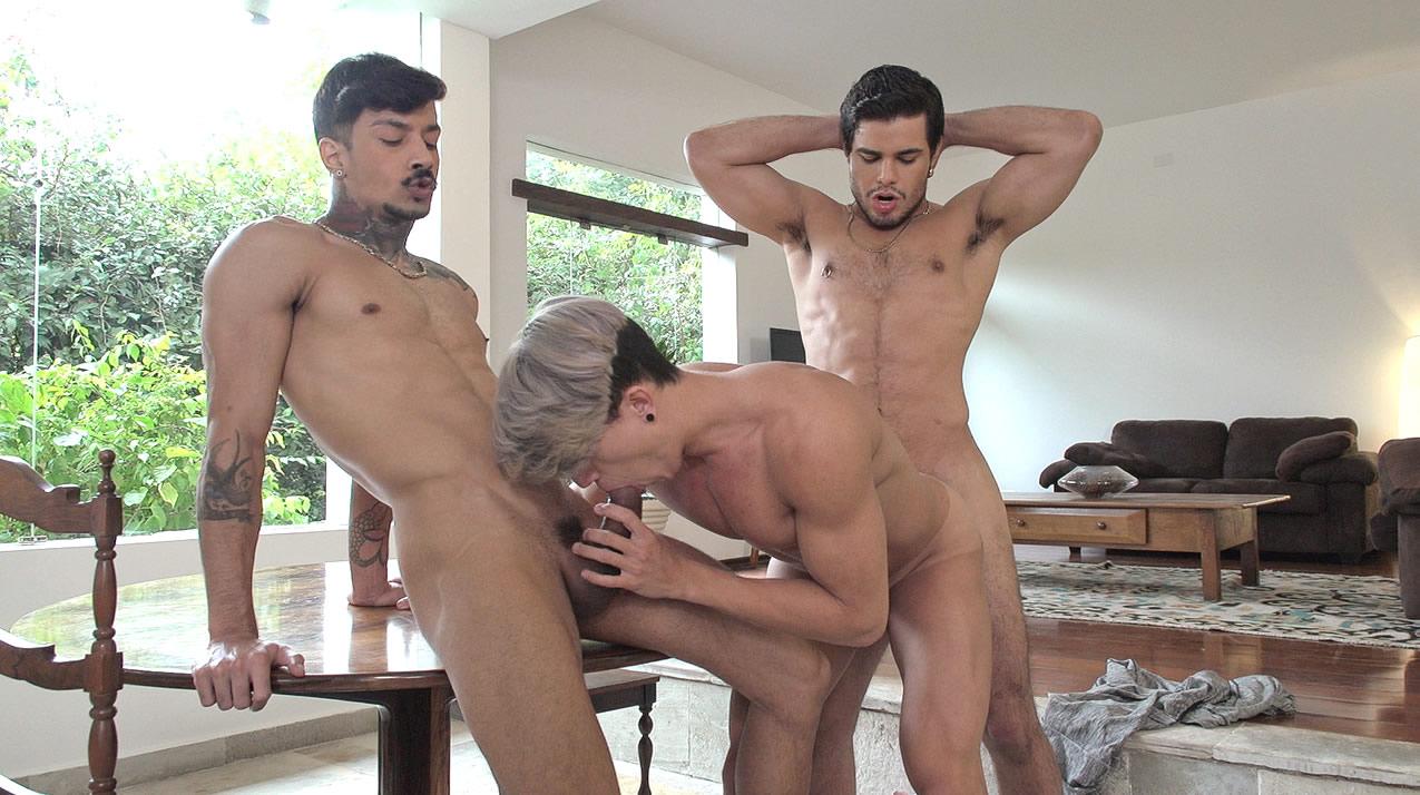Richard(Rico Marlon) & Dito & Nando Chaves - Bareback(Home Office)