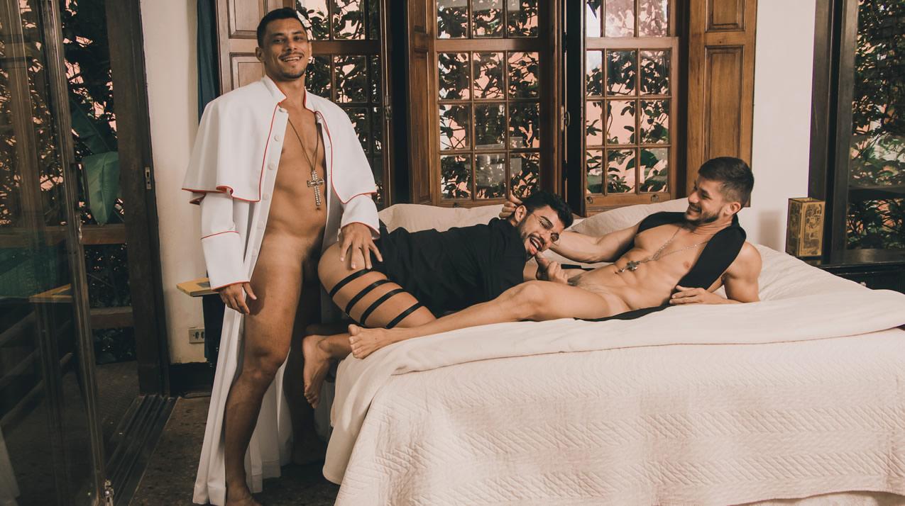 Peralta & Thiago & Doni - Bareback(Padres)
