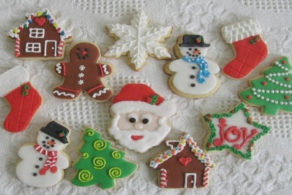 Imagenes De Galletas De Navidad Decoradas.Deliciosas Galletas Para Ambientar Las Fiestas