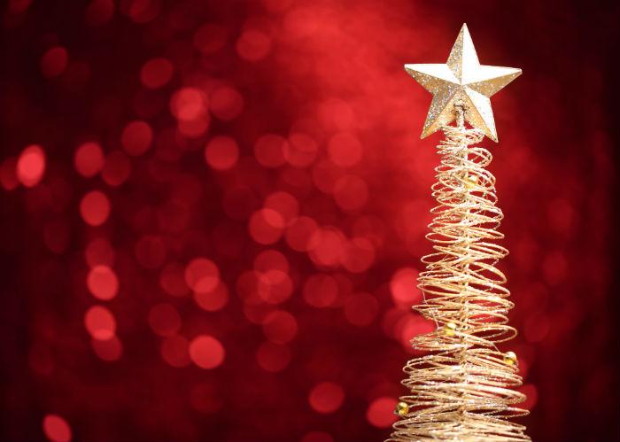 La estrella de Navidad