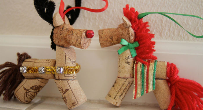 La creatividad destaca en los adornos navideños.