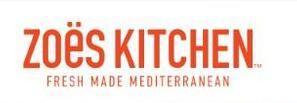 Zoes Kitchen Menu In Bradenton Florida Usa