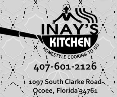 Inay S Kitchen Menu In Ocoee Florida Usa
