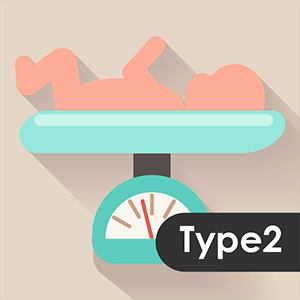 Type II Diabetes on Newborn`s Weight