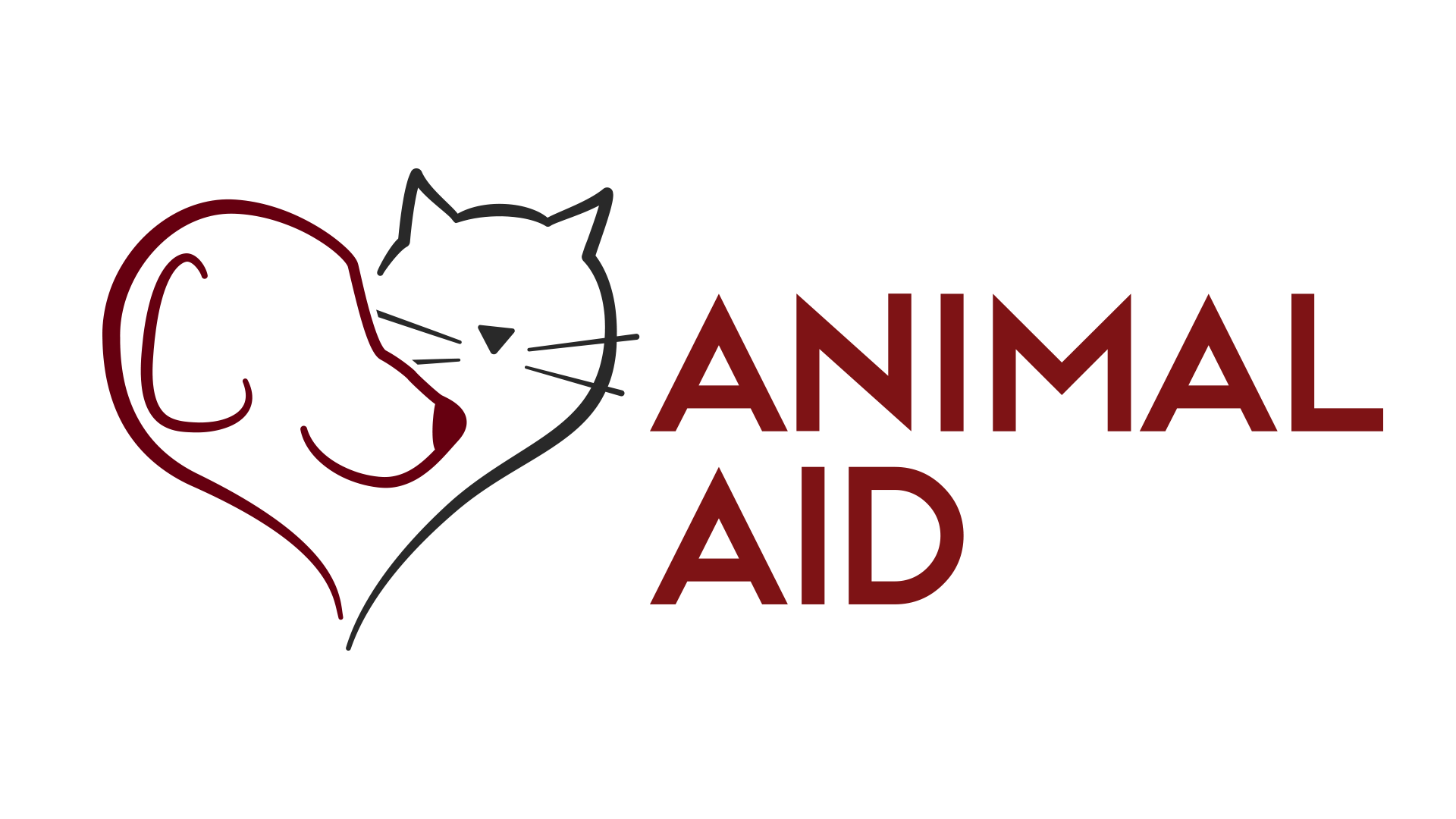 Animal aid logo main   clear background