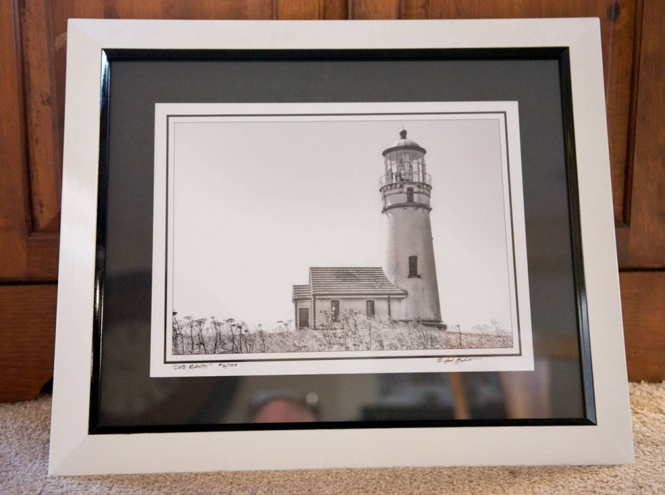 """Cape Blanco"" - Framed Fine Art Print"
