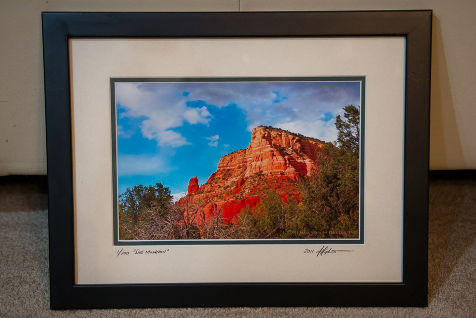 """Doe Mountain"" - Framed Fine Art Print"