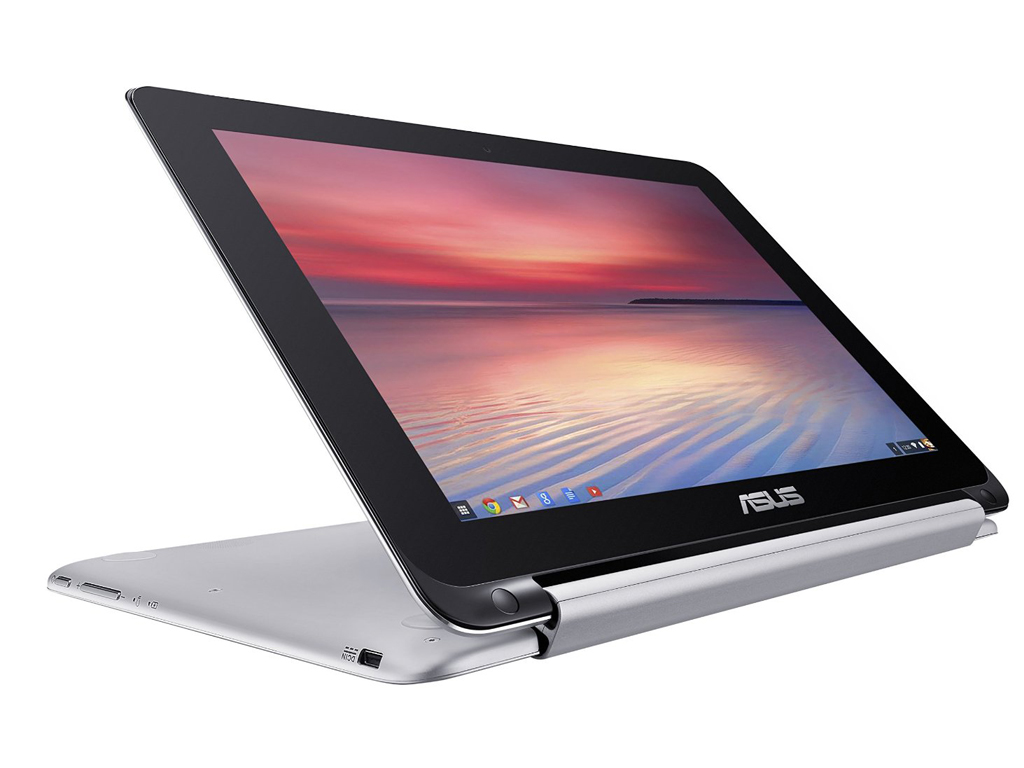 "ASUS Chromebook C100PA-DB02 1.8GHz 3288-C 10.1"" 1280 x 800pixels Touchscreen Aluminium Chromebook"