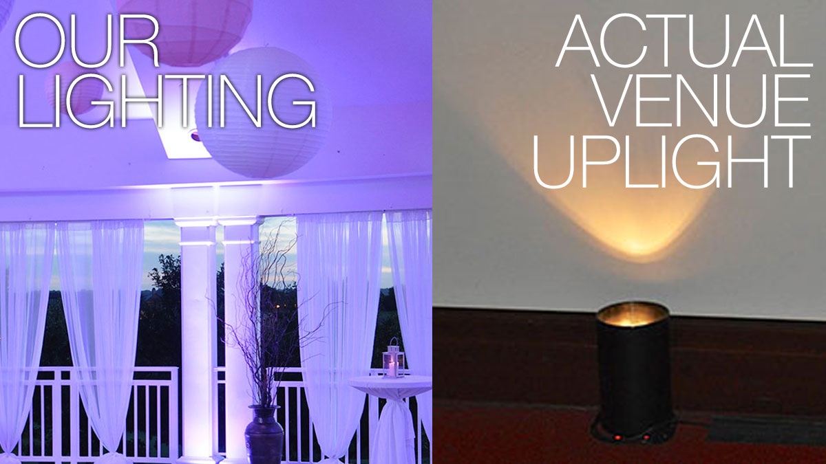 Des Moines Wedding Lighting