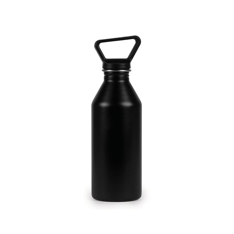 Influencer water bottle, logo'd