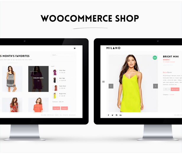 minimal woocommerce wordpress theme