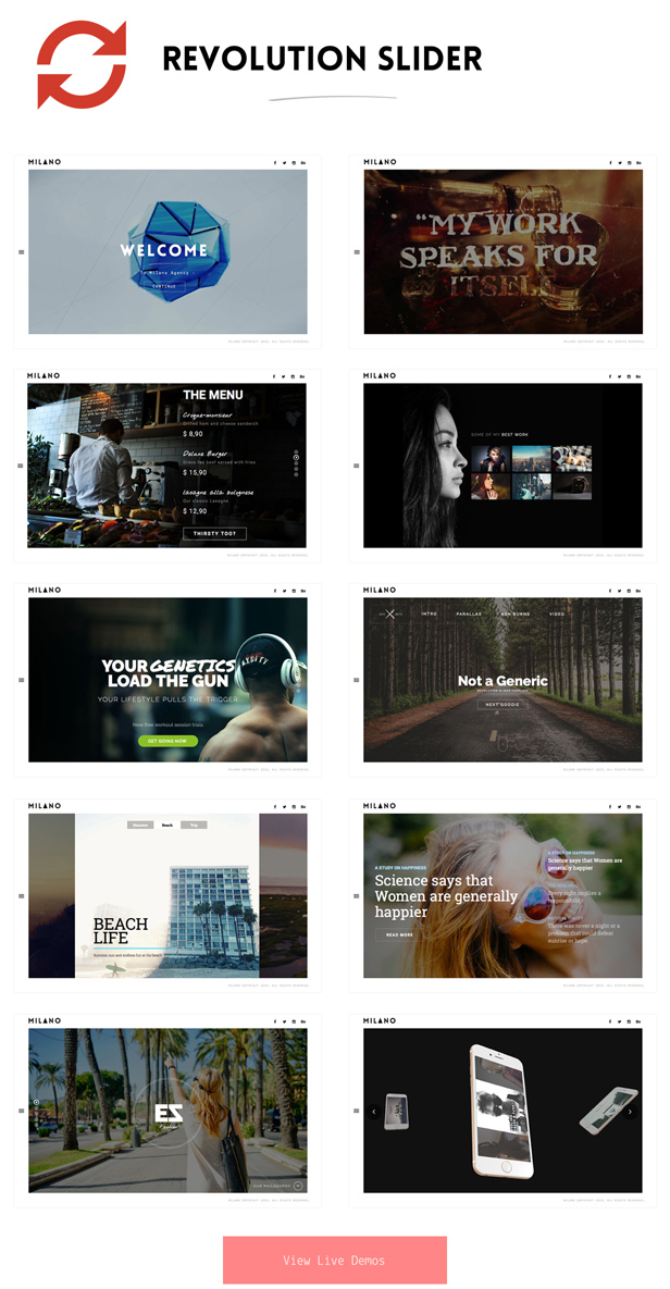 slider revolution wordpress theme