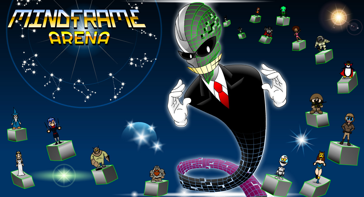 Mindframe Arena - A family friendly game