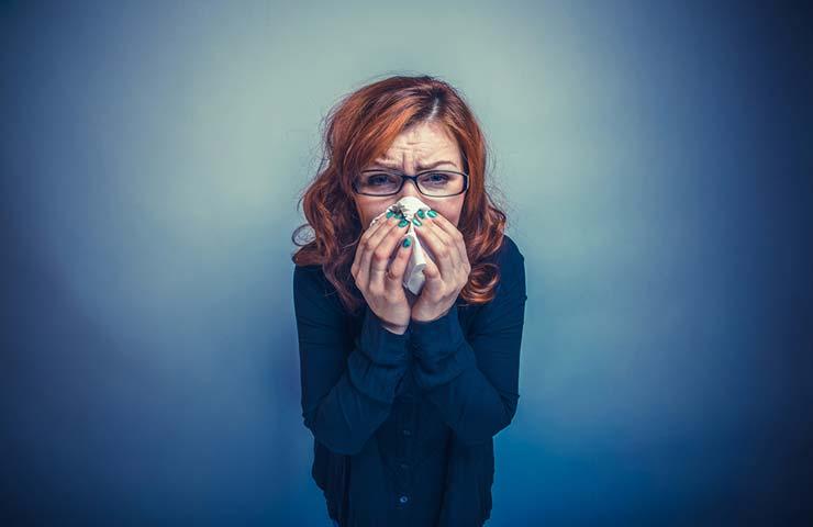 Cómo no confundir con covid-19 las alergias de invierno
