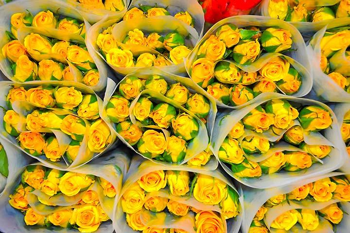 Flores, un regalo de exportación
