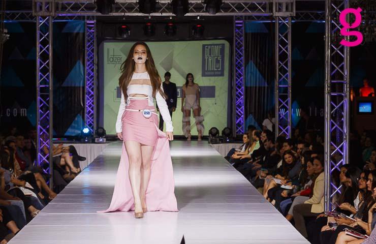Llatzer Geometrics Fashion Show