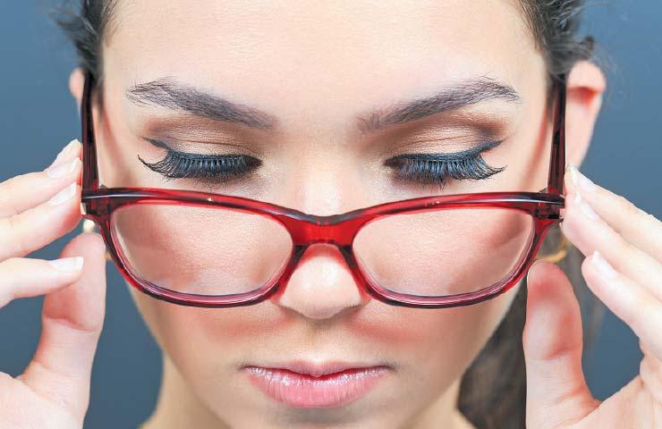 Cómo maquillarme si uso lentes