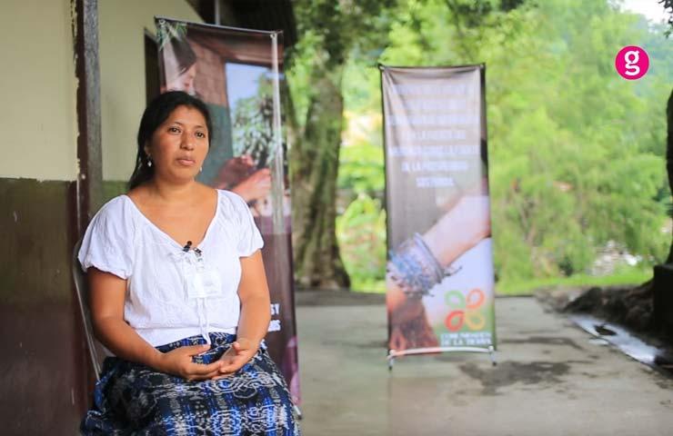 Alejandra, de cortadora de café a empresaria