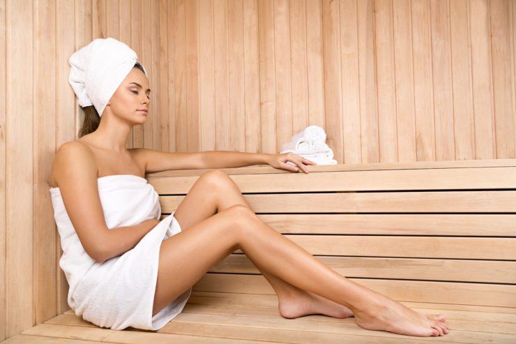 5 beneficios del baño sauna para la salud