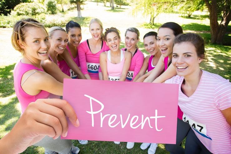Campañas a favor de la prevención de cáncer de mama