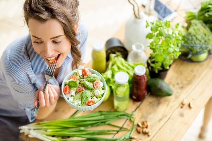Ensaladas frescas y deliciosas