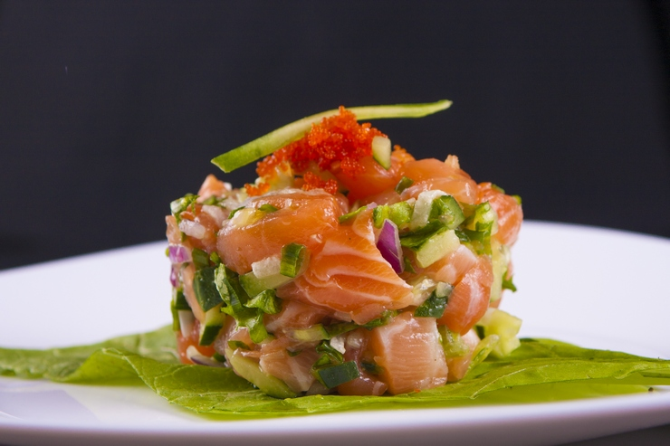 3 recetas prácticas de ceviche con salmón para bajar de peso
