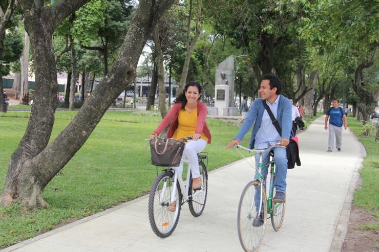 5 lugares en Guatemala para andar en bicicleta de forma segura