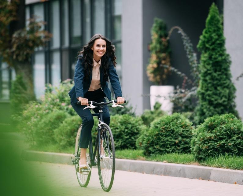 Estos son los beneficios de movilizarte en bicicleta