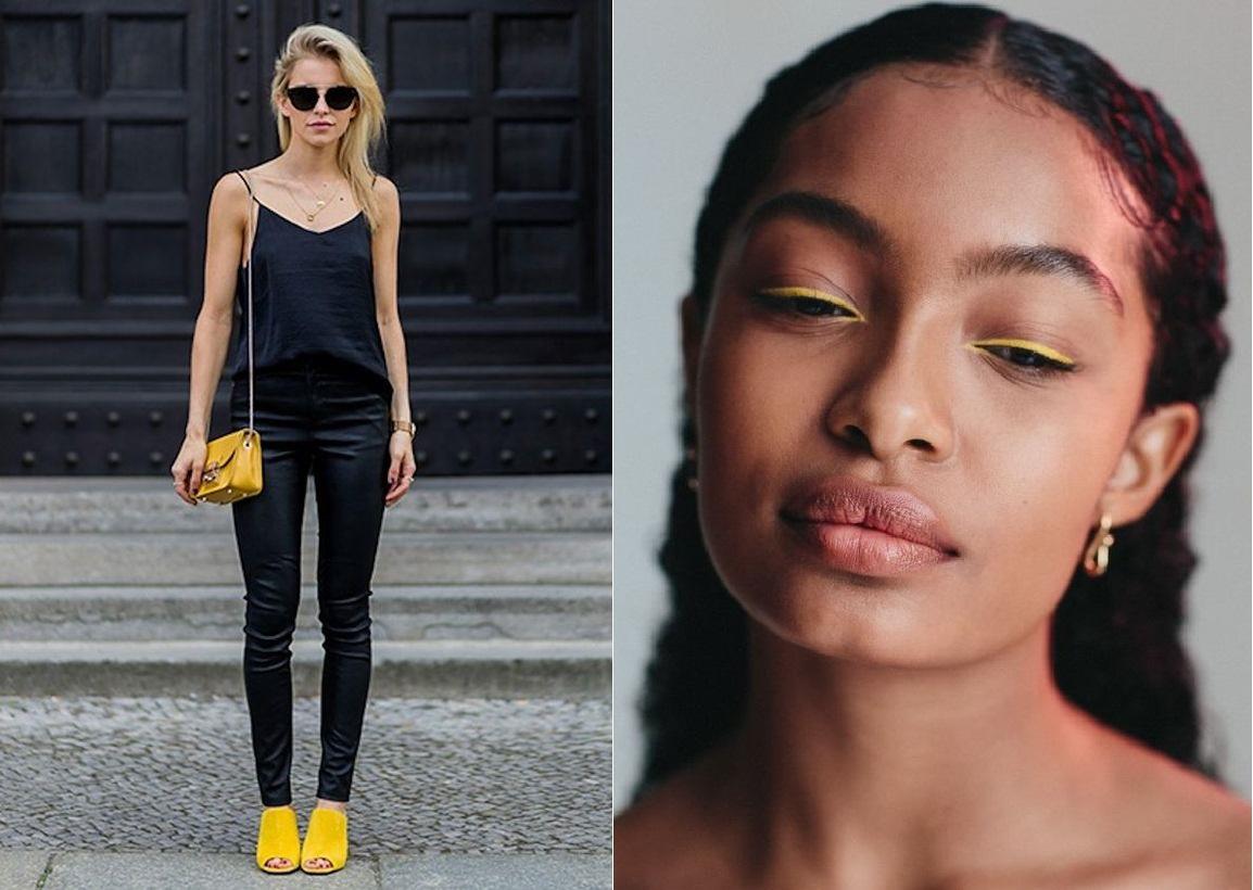 ¿Cómo incluir el amarillo en tu outfit de fin de año?