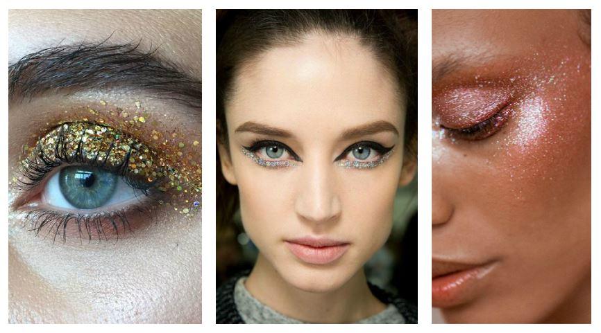 Tips para volverte una experta en makeup glitter